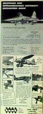 1967 Hawk Model Northrop F-5A Airplanes Kits Toy AD