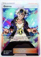 Pokemon Card : GUZMA 143/147 Burning Shadows Holo Full Art Ultra Rare NM