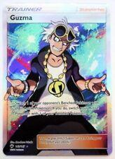 Pokemon Card: GUZMA 143/147 Burning Shadows Holo Full Art Ultra Rare NM