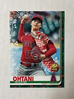 SHOHEI OHTANI 2019 Topps Holiday SSP STOCKING VARIATION RC! #HW16! ANGELS!