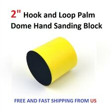 "2"" Hook and Loop Palm Dome Hand Sanding Block"