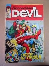 L' INCREDIBILE DEVIL n°57 edizioni Corno   [G338] * MEDIOCRE *