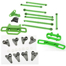 Traxxas 1/16 Grave Digger * GREEN FRONT & REAR BUMPERS, LINKS, RODS & ROCKERS *