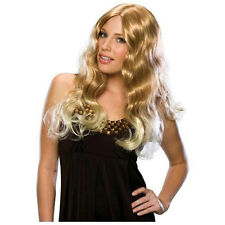 Ms. Big Wig Long Flowy Blonde Costume Carrie Bradshaw Sex in the City Wig