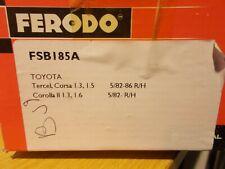 Fits Toyota Corolla Tercel 5/82-86 Rear Brake Shoes Ferodo FSB185A