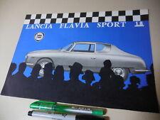 LANCIA FLAVIA SPORT 1.8 ENGLISH Brochure 1965/03? ZAGATO