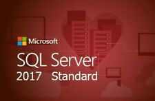SQL Server 2017 Standard 24 cores Unlimited Cal product key/30 SEC DELIVERY