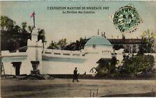 CPA  Exposition Maritime de Bordeaux 1907 - Le Pavillon des Colontes   (655295)