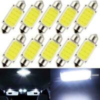 36mm 10x LED Lights Car Interior Bulb Dome Lamp Error Free Festoon License Light