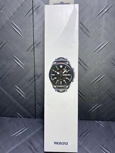 Samsung Galaxy Watch3 Watch 3 45mm Smart watch Mystic Black Open Box ✌️