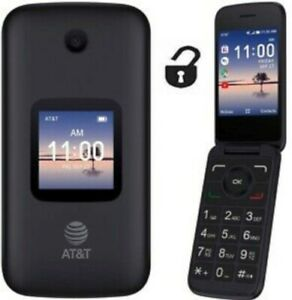 Alcatel 4052R GSM Unlocked Smart Flip Phone - AT&T, T-mobile, Tracfone, H2O