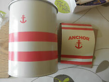 Anchor rewards Kitchen Utensil tin and Cookie cutter. New