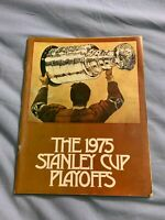 1975 Stanley Cup Playoffs New York Islanders Program