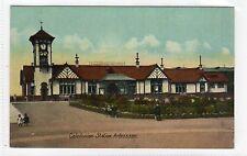 CALEDONIAN RAILWAY STATION, ARDROSSAN: Ayrshire postcard (C8082)