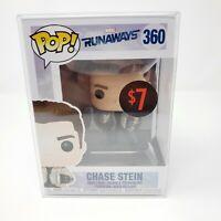 Funko Pop Hulu Marvel Runaways #360 Chase Stein Vinyl Figure Pop Protector
