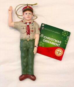 Kurt Adler Boy Scouts of America Pledge Taking Oath Christmas Ornament W0329 NEW