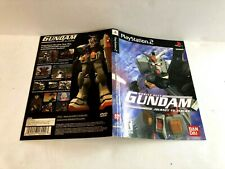 Gundam Journey To Jaburo PS2 ARTWORK ONLY Authentic CREASED SPINE