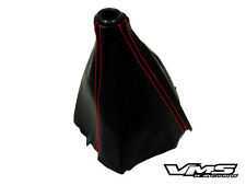 96-00 HONDA CIVIC EK9 TYPE-R STYLE BLACK WITH RED STITCH STICHES JDM SHIFT BOOT