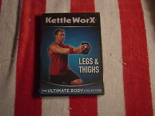 KettleWorx - Legs & Thighs (DVD, 2008) The Ultimate Body Collection   NEW