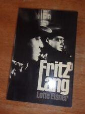 FRITZ LANG (Da Capo Paperback) Lotte Eisner