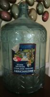 Vintage Bastanchury Family Natural Deep Well 5 Gallon Glass Water Jug Carboy