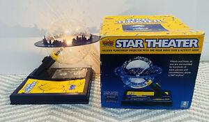 Star Theatre Planetarium Projector Super Science Halogen Night Light Lamp Sky