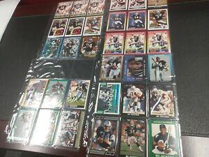 Bo Jackson 33 Card Lot, Football, Baseball. Unique Cards Oakland Raiders, KC...