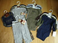 Baby Boys CARTERS Lot My Daddy Rocks GUITARS Set (18 Pcs in All) NEW NWT 0-3-6 M
