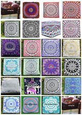 Large Mandala Floor Cushion Throw Square Pillow Cover, Dog Bed Cover Home Decor