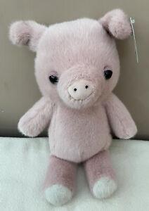 NEW Jellycat Beebi Pig Piglet Baby Soft Toy Comforter Pink Plush BNWT