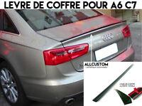 SPOILER BECQUET LEVRE LAME COFFRE pour AUDI A6 C7 2010-2018 S SLINE S6 QUATTRO