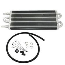 "Universal 15 1/2"" x 5"" x 3/4"" Aluminum Remote Transmission Oil Cooler"