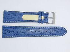 Di-Modell Genuine Shark Leather 22 mm M'BLUE Waterproof Watch Band SHARKSKIN