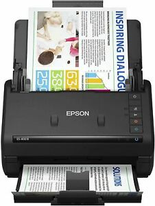Epson Workforce ES-400 II Color Duplex Desktop Document Scanner for PC and Mac,