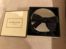 JO MALONE CHROME CANDLE LID WITH BOW & BOX (NEW)