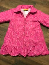 Penelope Mack Girls Pink Quilted Coat Size 3t
