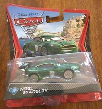 Disney Pixar Cars 2-Nigel Gearsley #20-Die Cast Car-2010-New In Package