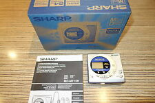 Sharp MZ MT15  Minidisc Player / Recorder Silber   (812)  + Karton