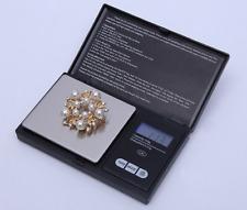 Portable Digital Pocket Scale 0.01g-100g/200g Mini Jewellery Gram Weighing steel