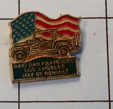 pin RAID San Francisco LOTE ANGELES JEEP RENAULT (an2035)