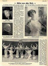Das Narzissenfest der Gräfin v.Wedel in Elsaß-Lothringen 1911