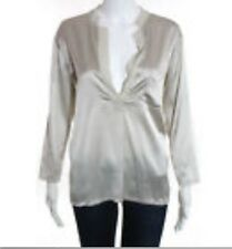 THEORY Women's Silk Blouse Size Medium New Without Tags