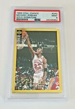 1994-95 Collectors Choice Michael Jordan Gold Signature Graded PSA 9
