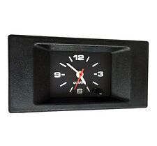 Luch Car Dashboard Quartz Clock. Square. Retro. Restoration. Old/new school 12V
