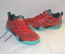 New Reebok Blacktop Avenue Triathlon Red/Green/Black Battleground Pump Rare 8.5