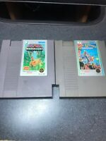 Ikari Warriors I & II 1 & 2 NES Nintendo Game Cartridges  Free Ship!