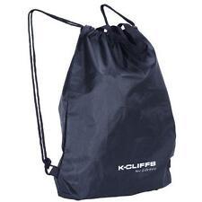 Lightweight Drawstring Fitness Gym Tote Bag School Sports Backpack Nylon Navy