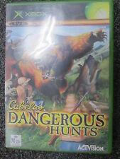 CABELAS DANGEROUS HUNTS XBOX