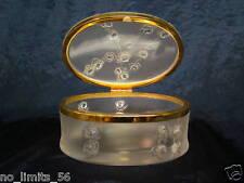 Kristall Dose Lalique COPPELIA 1,5kg 17,5cmLANG 9,5cm HOCH SEHR GUT ZUSTAND