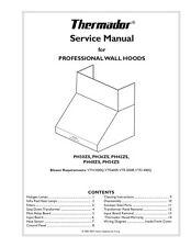 Repair Manual:Thermador Ovens & Cooktops (choice of 1 manual, Models below)